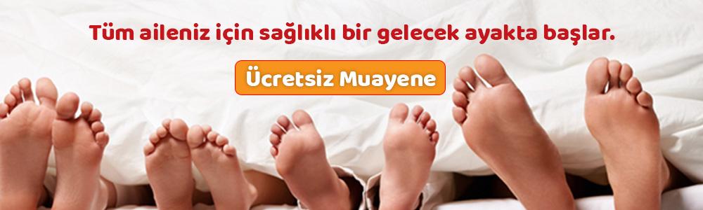 Aileniz için ayak sağlığı